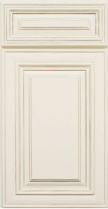 Antique White Rta Kitchen Cabinets Sample Door All Wood In Stock Ship Quick Ebay