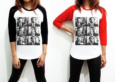 Supernatural Shirt Tshirt Graphic Tee Fight White 3/4 Long Sleeve Cotton 100%