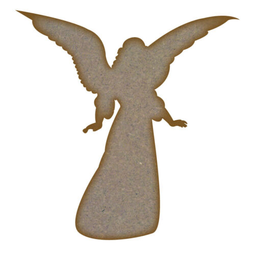 Design 2 MDF Laser Cut Craft Blanks in Various Sizes Angel