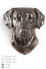 Rhodesian Ridgeback dog statuette to hang on the wall, Art Dog , CA