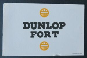 BUVARD-DUNLOP-FORT-pneu-tyre-Imprimerie-Marseillaise-Blotter-Loscher