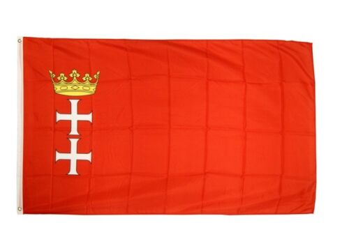 Fahne Polen Danzig Flagge polnische Hissflagge 90x150cm