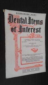 Rivista-Dental-Items-Of-Interest-N-10-October-1927-ABE