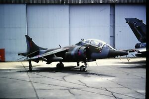 3-884-Hawker-Harrier-T-4A-Royal-Air-Force-Kodachrome-SLIDE
