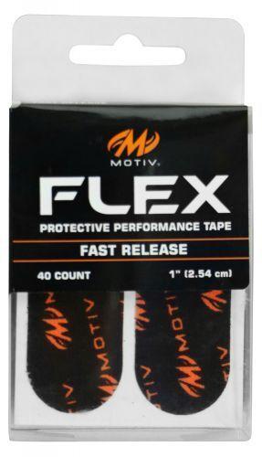 Motiv Flex Protection Tape Fast Release BLACK 80 Pieces 3 PACKS