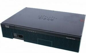 Used-Cisco-C2911-VSEC-K9-Integrated-Services-Router-Voice-Sec-Bundle-UC-amp-SEC