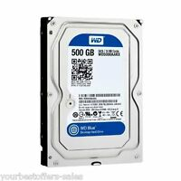 Hard Drive Sata 3.5 Desktop Hard Drive 500 Gb Advanced Technology 7200 Rpm Blue