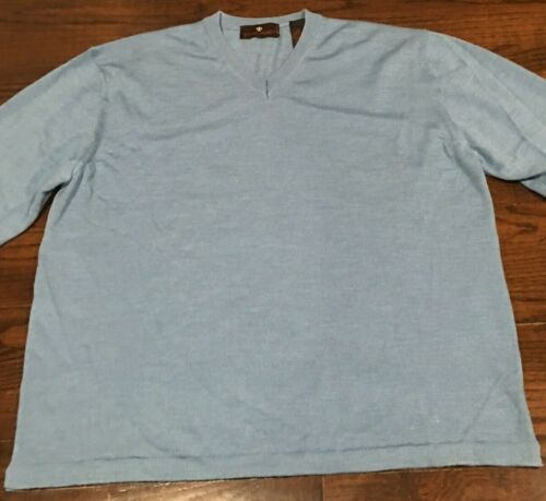 pull pullover O6265 Toscano Italy col hommess mérinos XL 100laine SzpUMV