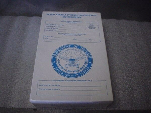 Tritech Forensics Sexual Assault Evidence Collection Kit Victim / Suspect