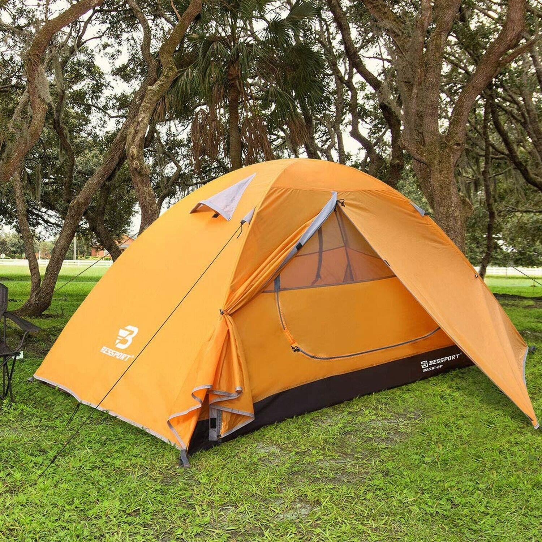 Tenda DA CAMPEGGIO bessport per 12 persona leggero Zaino in sptuttia TENDE impermeabile.