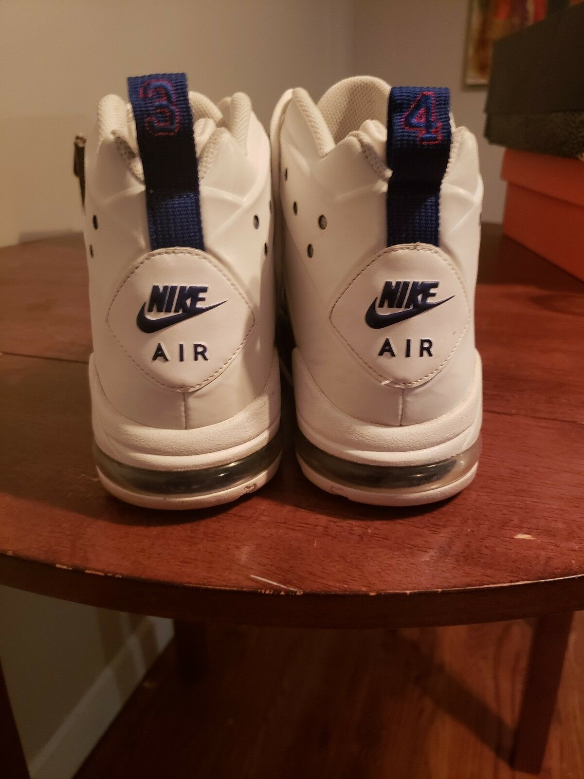 Nike air max 2 bc 94 charles barkley 2011 - tech sixers 46 usato ds