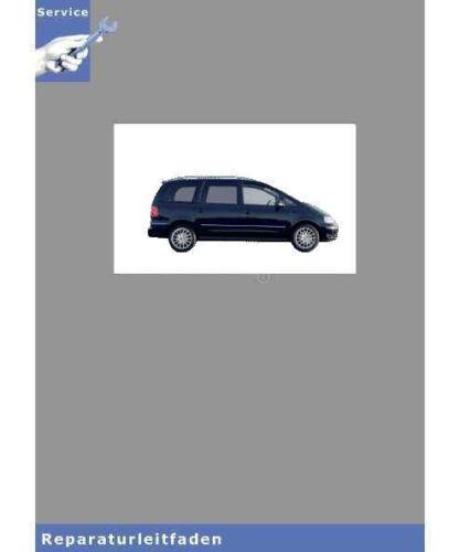95-10 4-zyl - istruzioni di riparazione tipo 7m Dieselmotor 1,9 L-Motor VW Sharan