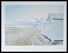 Clemens M. Erlenbach Bains des mers Poster Bild Kunstdruck im Alu Rahmen 60x80cm