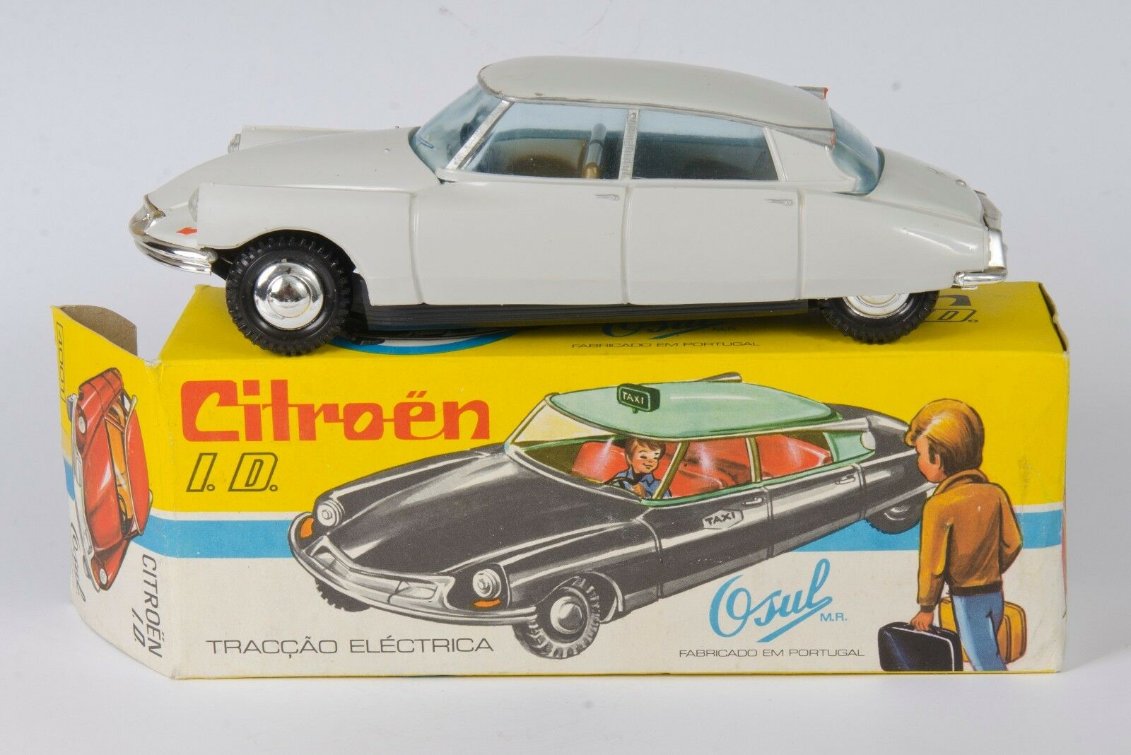 Osul 4001 Citroën I.D. Gloss Grey. 1 24. Near-MINT Boxed. Rare. Vintage