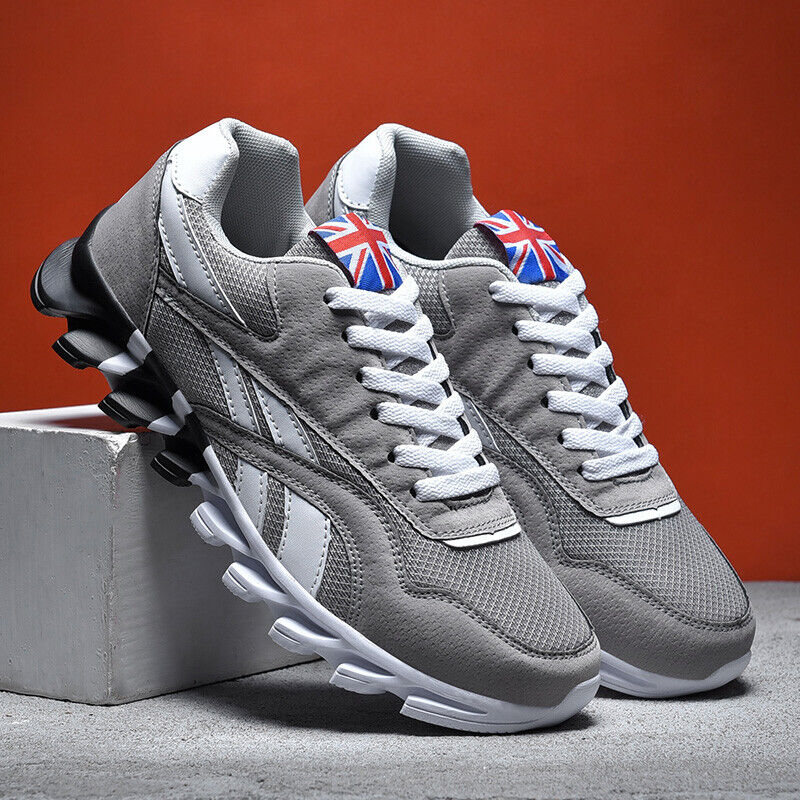 Men's Athletic Casual Trainers Breathable Jogging Sneakers Tennis Sports Shoes