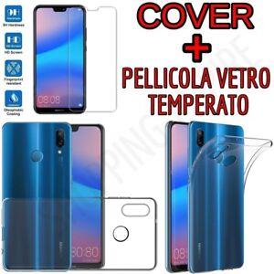 CUSTODIA-COVER-PELLICOLA-VETRO-TEMPERATO-per-HUAWEI-P20-LITE-P20-PRO-P20