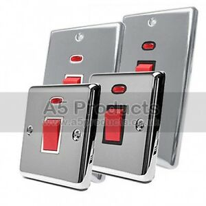 45-Amp-Cooker-Switch-with-Neon-in-Polished-Chrome-Classic-Style