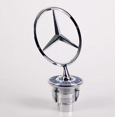 Mercedes-Benz Genuine Hood Star Decal Emblem C220 C230 C240 C280 C32 AMG C320 C36 AMG C43 AMG C55 AMG CLK320 CLK430 CLK55 AMG E300 E320 E350 E420 E430 E500 E55 AMG S350 S430 S500 S55 AMG S600
