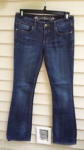 Express Boot Stella-Low Rise regular fit Jeans stretch Size 4r