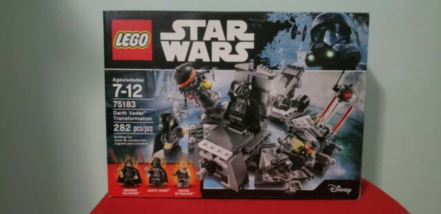 Lego Star Wars Darth Vader Transformation (75183) Unopened