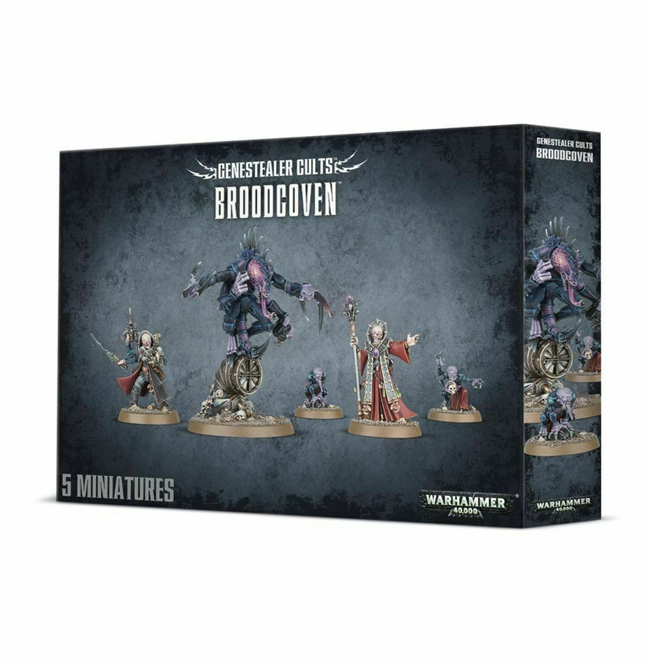 Games Workshop - Warhammer 40K - Broodcoven Genestealer Cults