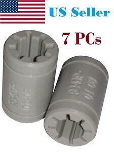 IGUS Drylin Plastic Linear Shaft Bearings (RJ4JP-01-08) - replaces LM8UU, 7 PCS