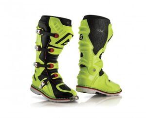 Acerbis Motocross Stivali di X Move 2.0/Fluo Arancione//Giallo//Nero