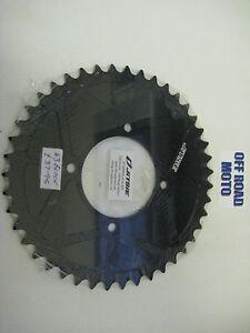 Trials-Bike-Jitsie-Solid-Type-Rear-Sprocket-BLACK-All-Sizes-41-44T-FIM