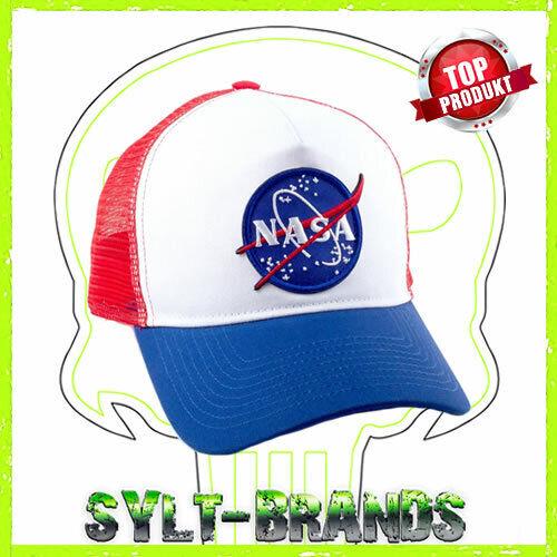 NASA Houston USA Trucker Cap Basecap Snapback Kappe Baseballcap Beanie Mütze Hat