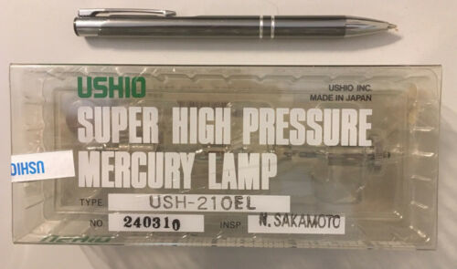 Mercury Arc Lamp New Ushio 200 Watt 200W USH-210EL Hg