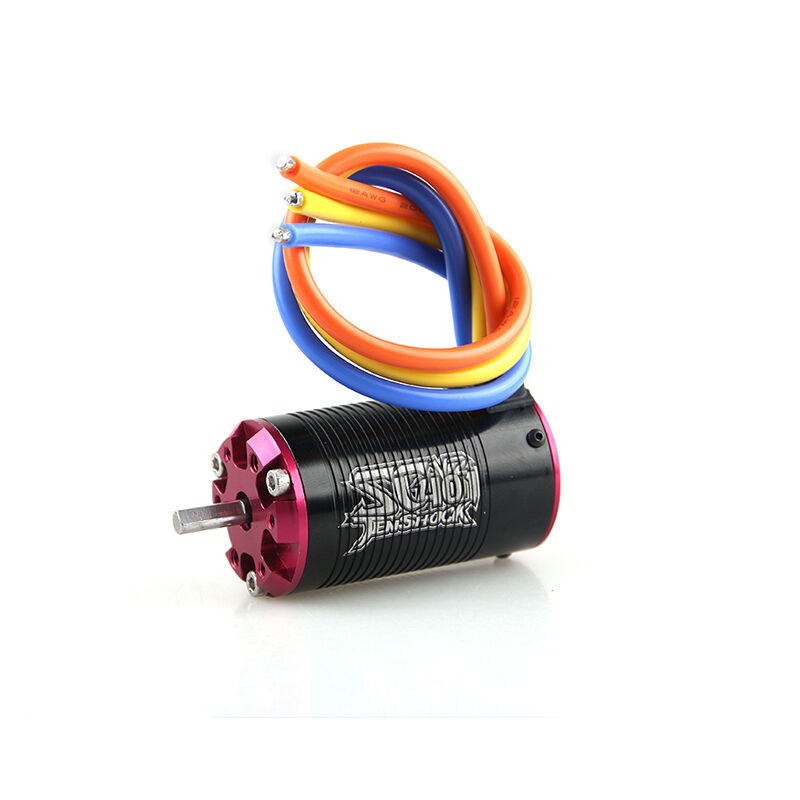 Tenshock 4 Pole SC401V2-3800KV Sensorless Brushless Motor RC 1 10 Short Course