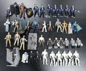 STAR-WARS-ULTIMATE-BESPIN-LOT-OF-40-LOOSE-ACTION-FIGURES-HASBRO