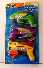 Kwik Grip Water Blasters XL Pack of 3 Seasons of Fun Outdoor Summer Toy