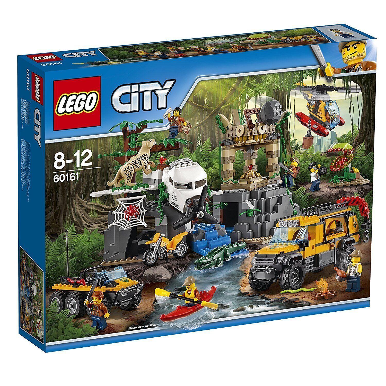 Lego City 60161 Dschungel-Forschungsstation Nuevo Embalaje Original Misb