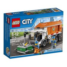 60118 GARBAGE TRUCK lego city town SEALED police NEW legos set train