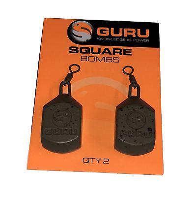 Coarse Fishing Weights Guru Square Pear Bomb