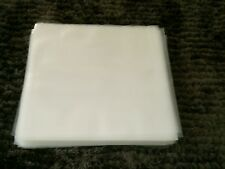"""100 NEW PREMIUM THICK LP / 12"""" PLASTIC OUTER RECORD COVER SLEEVES FOR VINYL"""