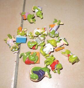 Liasse 13 x VIEUX PERSONNAGE-Ice-Kinder -- Mix bicolores Crocodile 1991-i -- MIX Kroko Krokodil 1991afficher le titre d`origine 5na7olFk-09121313-418813274