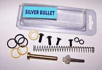 Deluxe 32 Degrees Silver Bullet Paintball Gun Parts Kit Valve Spring Oring Screw
