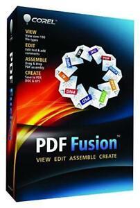 Corel Pdf Fusion-facilement Créer Et Modifier Pdf, Téléchargement Numérique, Version Complète-afficher Le Titre D'origine