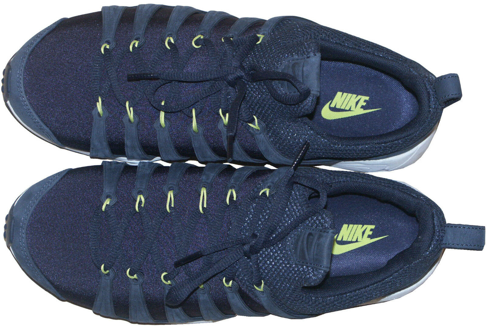 Nike air zoom / spirimic leichte marine ausbilder / zoom schuhe selten sz: uk8 eu42.5 us9 53778e