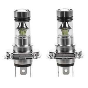 2Pcs-H4-100W-2828-20SMD-8000-K-LED-Auto-Nebel-Lampe-Hochleistungs-Automobil
