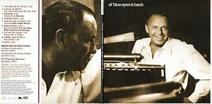 CD-Frank-SINATRA-Ol-039-Blue-Eyes-Is-Back-Gatefold-Card-Sleeve-CD