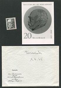 BRD-FOTO-ESSAY-463-BISMARCK-1965-UNVERAUSGABTER-ENTWURF-PHOTO-ESSAY-RARE-e402