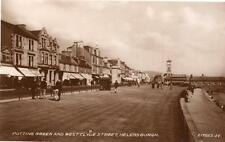 Putting Green Golf West Clyde Street Helensburgh RP old pc used 1933 Valentine