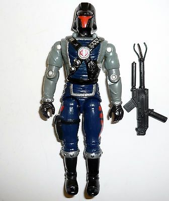 GI JOE INTERROGATOR Vintage Figure Cobra Battle Copter Pilot COMPLETE C8 v1 1991