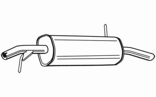 WALKER Endschalldämpfer für PEUGEOT 207 23228 Mister Auto Autoteile