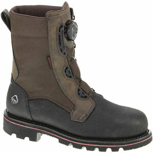 Wolverine-Mens-Drillbit-Oil-Rigger-Armortek-WP-Boa-8-034-EH-ST-Work-Boot-Steel-toe