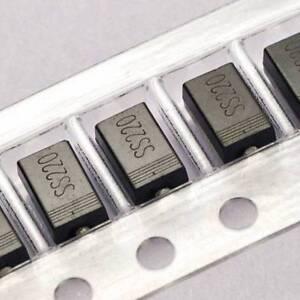 50PCS SR2100 SB2100 2 A 100 V Diodes Schottky