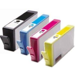 4-cartouche-d-039-encre-364-XL-Noir-Couleur-pour-imprimante-HP-Photosmart-5515